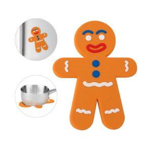 Podmetač za lonac magnetni - Gingerbread Man