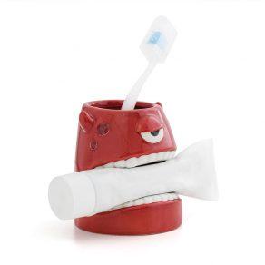 Šalica za četkicu i pastu za zube - čudovište