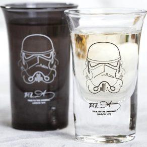 Star Wars - čašice za žestoka pića Stormtrooper, 4 kom