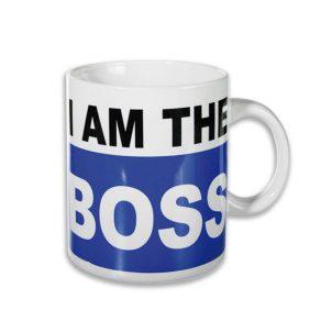 XL šalica - I am The Boss