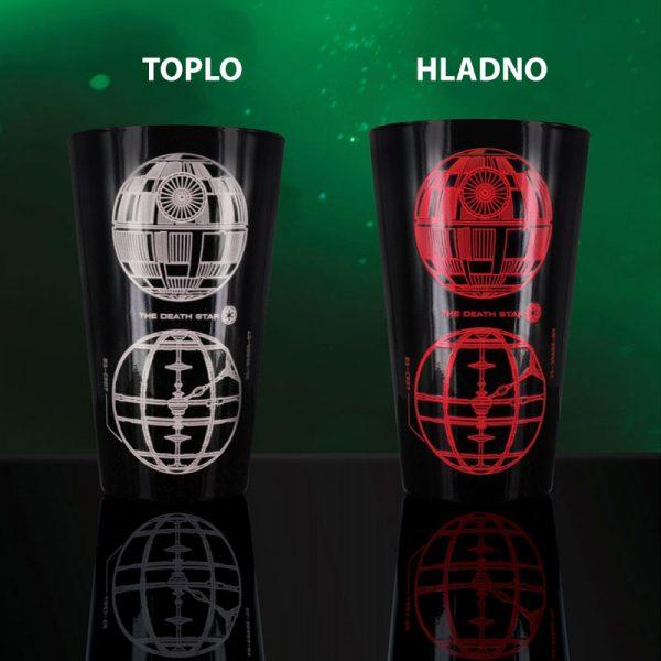 Star Wars - termoreaktivna čaša Darth Vader