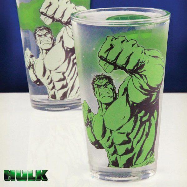 Marvel - termoreaktivna čaša Hulk