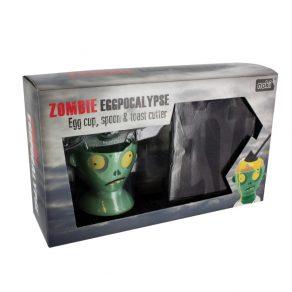 Eggpocalypse - set za doručak - zombi