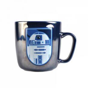 Star Wars - šalica s metalik efektom R2D2