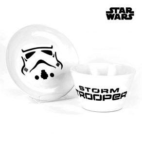 Star Wars – zdjelica i tanjur Stormtrooper