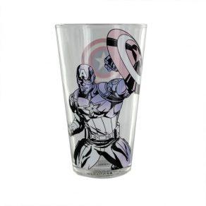 Marvel - termoreaktivna čaša Captain America