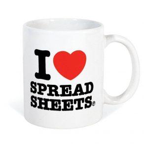 Šalica - I Love Spreadsheets