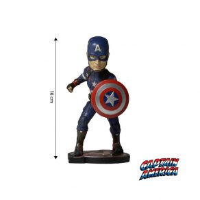 Marvel - bobblehead figurica Captain America, 18 cm