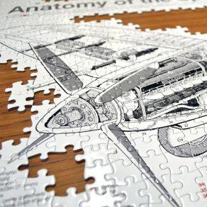 Puzzle - Spitfire, 1000 kom