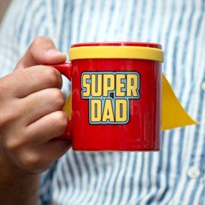 Šalica s plaštom - Super Dad