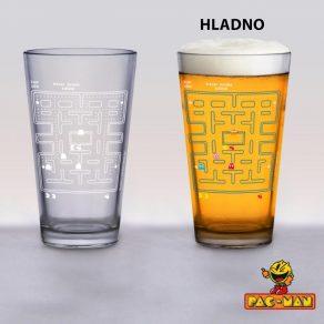 Pac-Man - termoreaktivna čaša