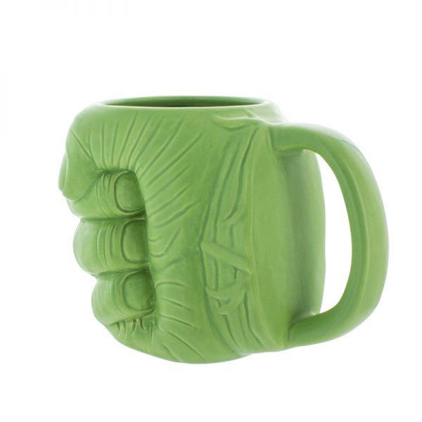 Marvel - šalica Hulkova šaka