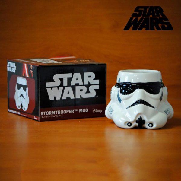 Star Wars - šalica Stormtrooper 3D