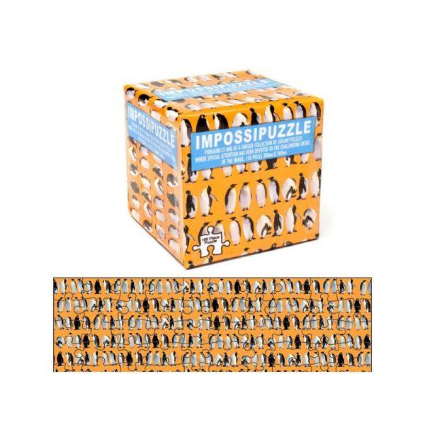 Impossipuzzle - nemoguće puzzle pingvini, 100 kom