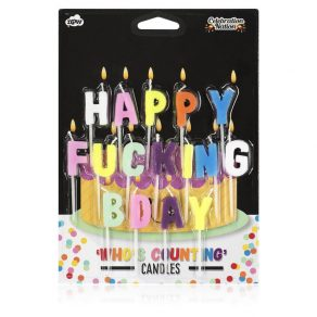 Svijeće Happy Fucking B Day