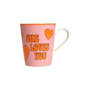 The Beatles - šalica She Loves You