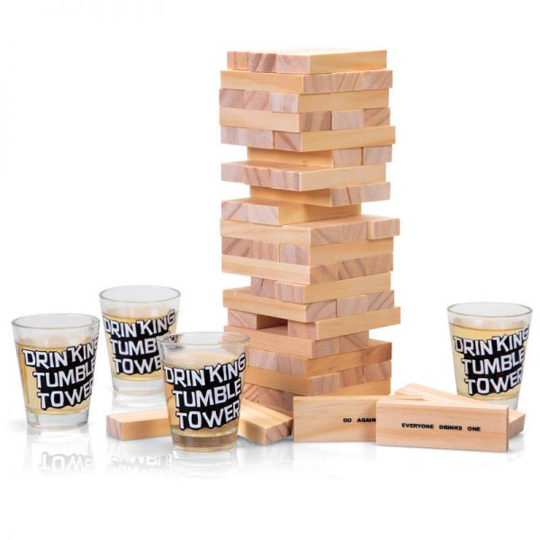 Tumble Tower - drinking game