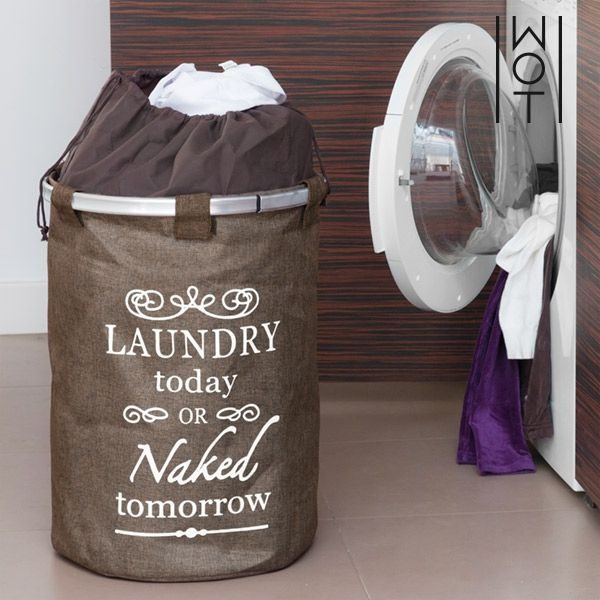 Vreća za rublje - Laundry Today or Naked Tomorrow