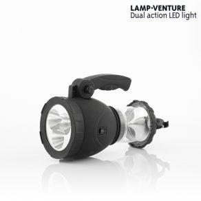 2u1 LED ručna / stolna svjetiljka
