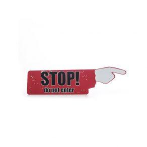 Zidni znak Stop!