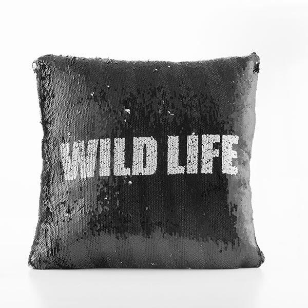 Jastuk s promjenjivim motivom Wild life / zebra