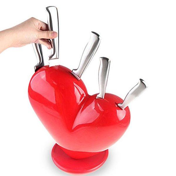 Set noževa sa stalkom Heart of Knives, 6 dijelova
