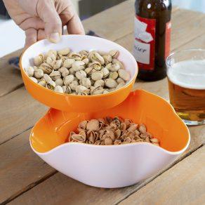 Zdjela za grickalice 2u1