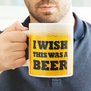 Šalica XL – I Wish This Was a Beer