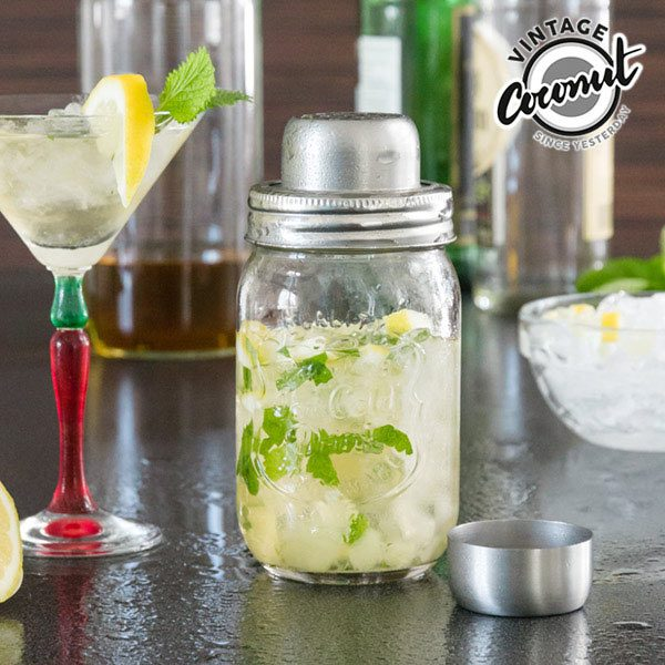 Shaker za koktele, stakleni