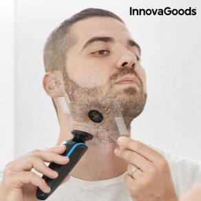 Hipster Barber – šablona za brijanje