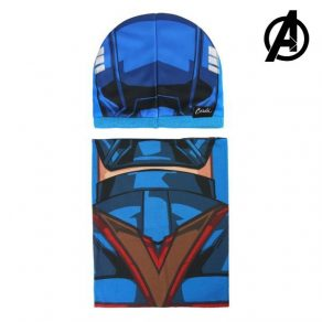 Marvel – kapa i grijač za vrat Captain America