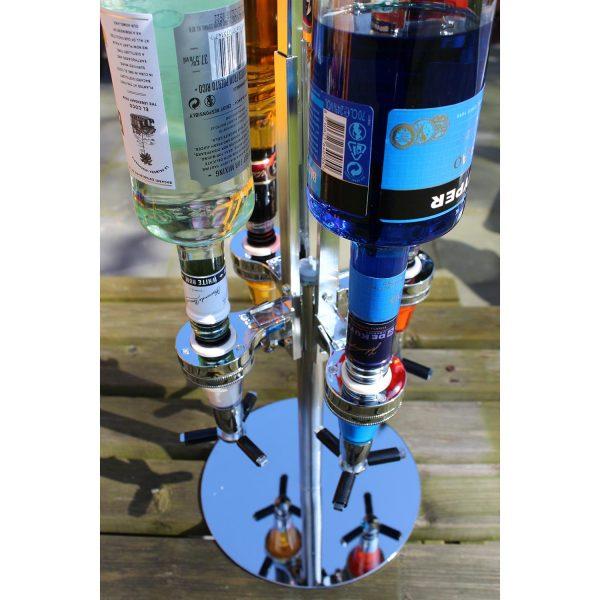 Rotirajući dozatori za žestoka pića (4 boce)