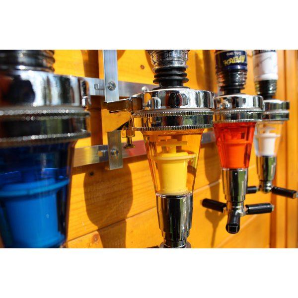 Zidni dozatori za žestoka pića (3 boce)