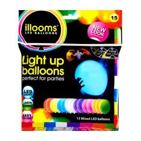 Baloni s LED osvjetljenjem