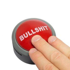 Bullshit alarm button