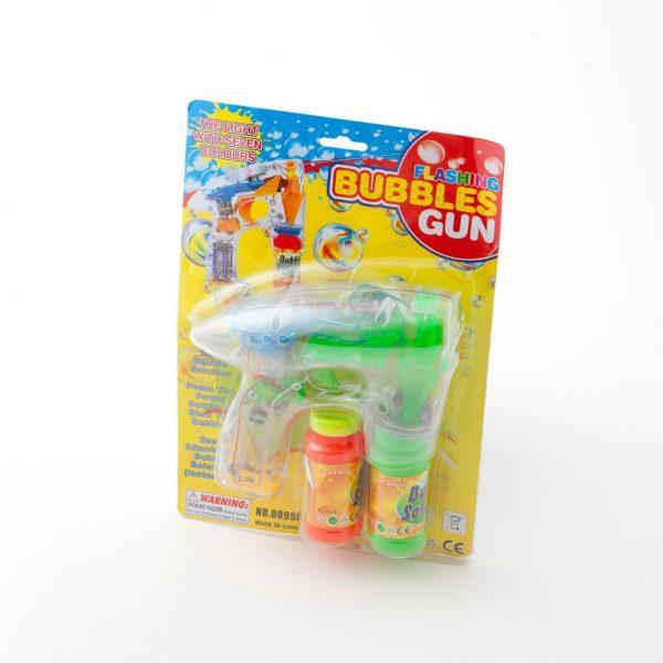 Svjetleći pištolj za mjehuriće