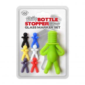 Silikonski markeri za čaše + čep