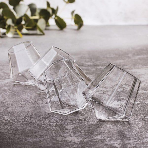 Set čaša za žestoka pića - dijamant