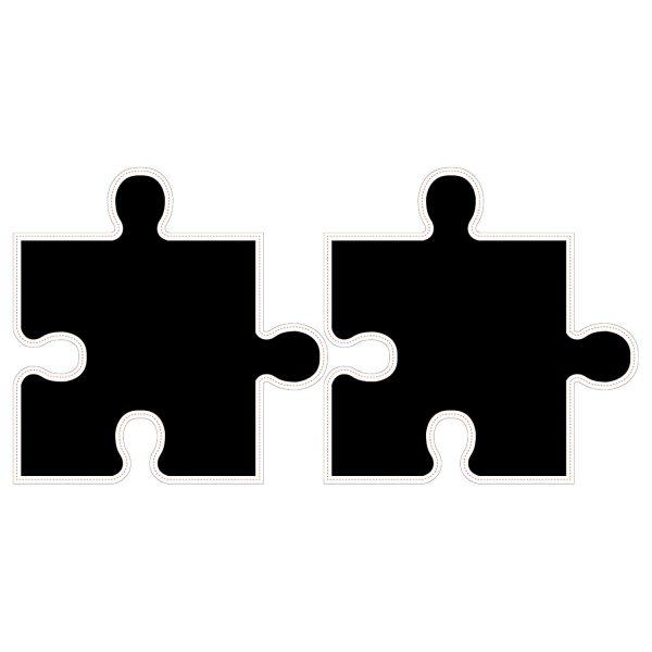 Dekorativna naljepnica - puzzle - školska ploča