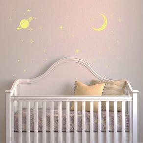 Svjetleća dekorativna naljepnica - zvjezdano nebo