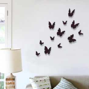 Dekorativna naljepnica - 3D leptiri