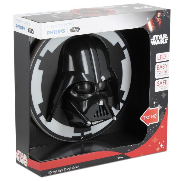 Star Wars - Philips zidna svjetiljka Darth Vader