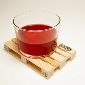 Paleta podmetač za čašu, 4 kom