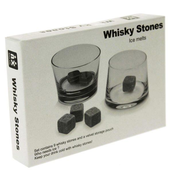 Whisky Stones - kamene kocke za hlađenje, 9 kom