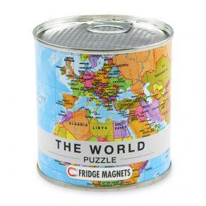 Karta svijeta - puzzle magneti za hladnjak