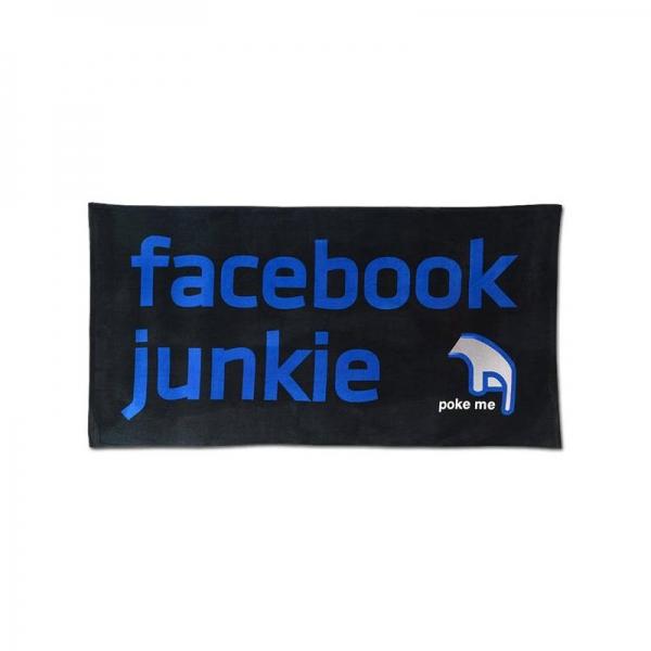Ručnik za plažu - Facebook, 152 x 76 cm