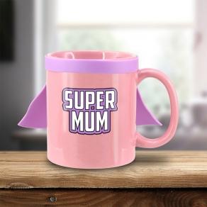 Šalica s plaštom – Super Mum