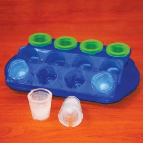 Set kalupa za led – čašice za žestoko piće