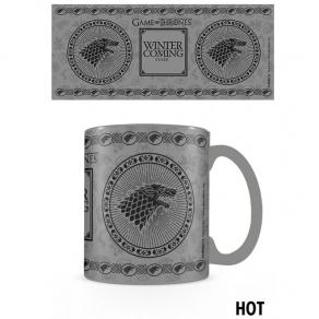 Game of Thrones – termoreaktivna šalica Stark