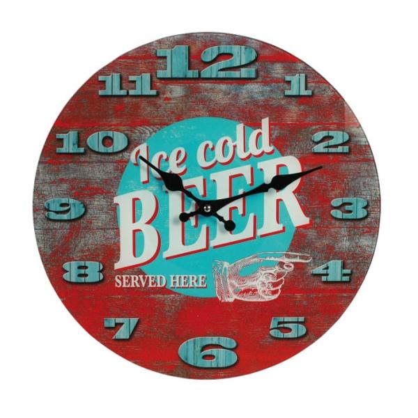Zidni sat – Ice Cold Beer Vintage
